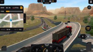 تصویر محیط Truck Simulator PRO 2 v1.6 + data