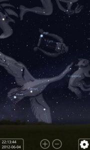 تصویر محیط Stellarium Mobile Sky Map v1.29.8