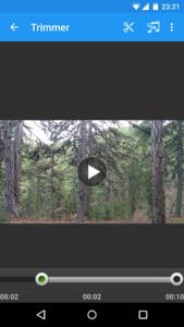 تصویر محیط VidTrim Pro – Video Editor v2.6.1