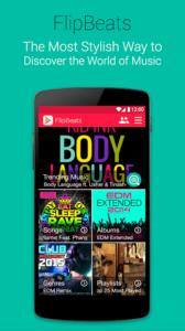 تصویر محیط FlipBeats – Best Music Player v1.1.26