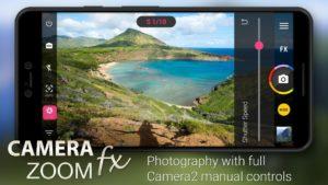 تصویر محیط Camera ZOOM FX – FREE v6.3.3