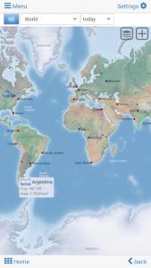 تصویر محیط World atlas & map MxGeo Pro v6.8.0