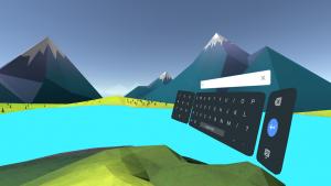 تصویر محیط Daydream Keyboard v1.23.190812016