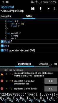 CppDroid – C/C++ IDE Premium v3.2.1