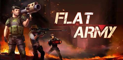 Flat Army: Sniper War v1.12.18 + data