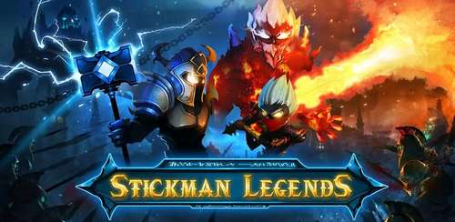 Stickman Legends – Ninja Hero: Knight, Shooter RPG v2.3.21