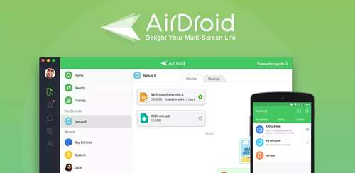 AirDroid: Remote access & File v4.1.9.5