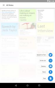 تصویر محیط Notepad v1.53