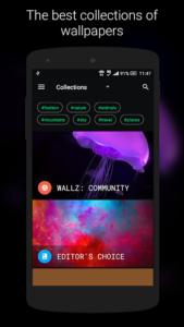 تصویر محیط Wallz – HD Stock, Community & Live Wallpapers v1.4.6