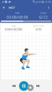 تصویر محیط Workouts at home for woman & man v2.7.3