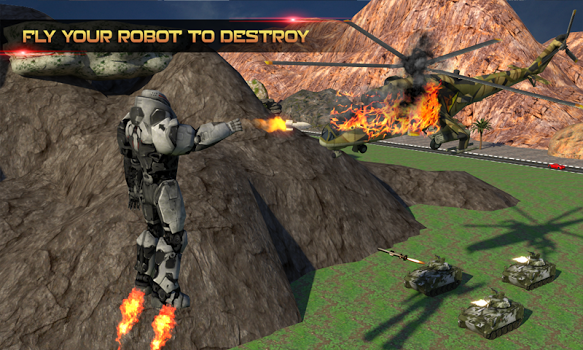 Futuristic Robot Battle v1.9