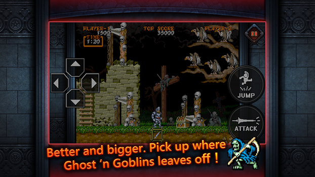 Ghouls'n Ghosts MOBILE v1.00.00