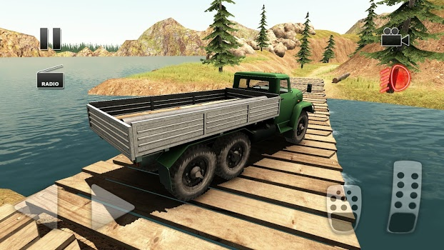 Truck Driver Crazy Road 2 v0.502 + data