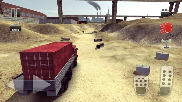 Truck Driver crazy road v2.0.02 + data