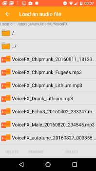 Voice Changer Voice Effects FX v1.1.0d