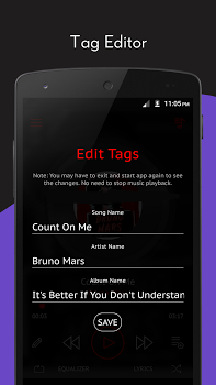 Crimson Music Player – MP3, Lyrics, Playlist v3.9.5