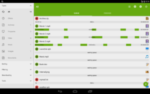 تصویر محیط Advanced Download Manager Pro v7.6