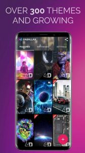 تصویر محیط 3D Parallax Background – HD Wallpapers in 3D v2.1