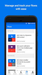 تصویر محیط Microsoft Flow—Business workflow automation v2.34.0