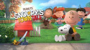 تصویر محیط Snoopy's Town Tale – City Building Simulator v3.3.9