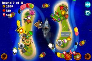 تصویر محیط Bloons Monkey City v1.12.4