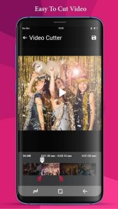 تصویر محیط Video Cutter – Music Cutter, Ringtone maker v1.2.1