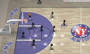 تصویر محیط Stickman Basketball v2.1