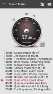 تصویر محیط Sound Meter Pro v2.6.0
