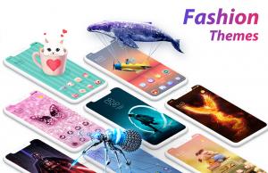 تصویر محیط C launcher:DIY themes,hide apps,wallpapers,2019 v3.10.26
