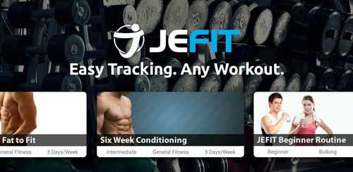 JEFIT Workout Tracker, Weight Lifting, Gym Log App v10.81