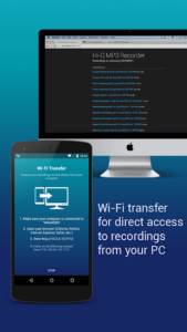 تصویر محیط Hi-Q MP3 Voice Recorder (Pro) v2.8.1