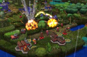 تصویر محیط Epic Little War Game v2.010