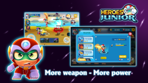 تصویر محیط SuperHero Junior – Galaxy Wars Offline Game v1.3