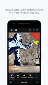 تصویر محیط Adobe Photoshop Fix v1.0.499