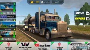 تصویر محیط Truck Simulator Europe 2 Free v1.0.5