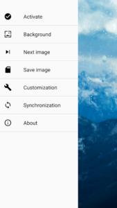 تصویر محیط Rainpaper v2.6.2