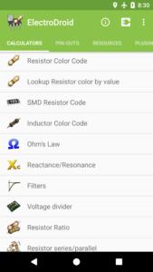 تصویر محیط ElectroDroid Pro v4.9.1