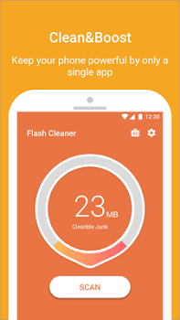 Flash Cleaner-Booster,Junk Cleaner & Battery Saver v1.1.2.3109