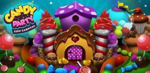 تصویر محیط Candy Donuts Coin Party Dozer v7.2.1