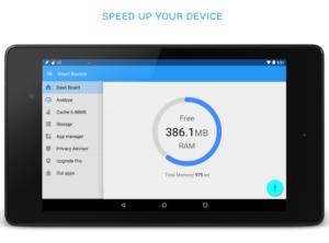 تصویر محیط Smart Booster Pro v7.6