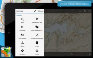 تصویر محیط Locus Map Pro – Outdoor GPS navigation and maps v3.38.6