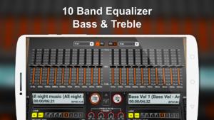 تصویر محیط DiscDj 3D Music Player – 3D Dj Music Mixer Studio v4.007s
