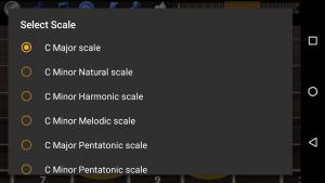 تصویر محیط Guitar Scales & Chords Pro v121 Bug Fix