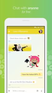 تصویر محیط Jongla – Social Messenger v3.2.4