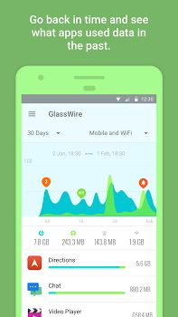GlassWire Data Usage Monitor v2.0.323r