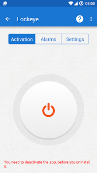 Lockeye Pro – Wrong password alarm v1.1.1