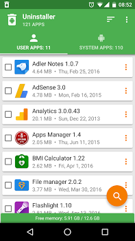 Uninstaller by Splend Apps v1.13