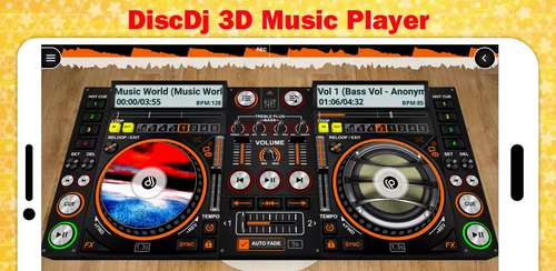 DiscDj 3D Music Player – 3D Dj Music Mixer Studio v4.007s