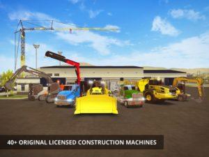 تصویر محیط Construction Simulator 2 v1.14 + data