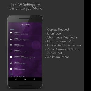 تصویر محیط Impulse Music Player Pro v3.0.3